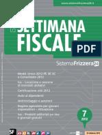 La Settimana Fiscale 07 - 2012