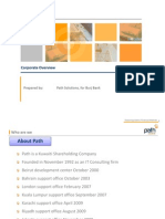 Path Solutions Corporate Overview
