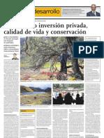 Conciliando inversión privada, calidad de vida y conservación