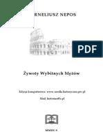 Nepos Korneliusz - Zywoty Wybitnych Mezow