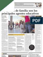 Los Padres de Familia Son Los Principales Agentes Educativos