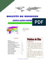 BOLETIN DE MISIONES 04-03-2012