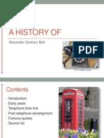 A History of Alexander Graham Bell