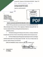 Veldora Arthur Restitution Order