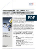 Special Report Oil - Nothing to Spare - 2012