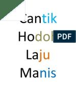 kata adjektif