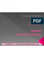 How to Use Spybot Search and Destroy