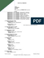 Osnovne SQL Komande