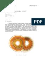 L'Attracteur de Lorenz, Paradigme Du Chaos - Ghys