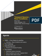 Temporal Session Race Conditions (TSRC) - Sept 2011 - Presentation