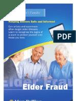 Elder Fraud Brochure