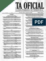 Gaceta 39875 (Estudio Comparativo de Tdc Enero 2012)