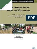 Fao Meeting on Urban & Peri-urban Forestry