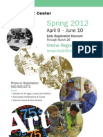 Spring Session 2012 Brochure