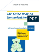 Iap Guide Book on Immunization 2009- 2010