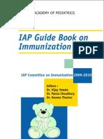 Iap Guide Book on Immunization 2009- 2010