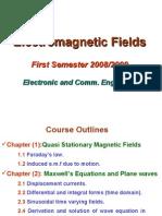 Electromagnetic Fields II-Summer