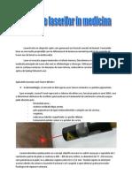 Aplicatiile Laserilor in Medicina