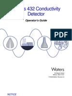 432 Conductivity Detector Operator's Guide