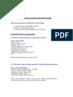 Firmware Up Gradation Procedure in Sun 3510 Storedges