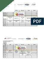 Horarios (Pnf Lic en Ad Mini Trac Ion) Trayecto 1, 2,3 y 4 Todos Los Trimestres Marzo-mayo 2012.