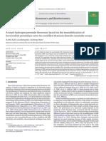 A Novel Hydrogen Peroxide Biosensor Based on the Immobilization of Horseradish Peroxidase Onto Au-Modified Titanium Dioxide Nanotube Arrays
