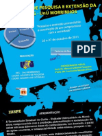 Terceira semana de pesquisa e extensão da UEG UnU Morrinhos 2011