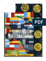 Subversión Internacional -Traian Romanescu-