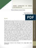 Dialogando sobre correções de erros diferenças e convergências