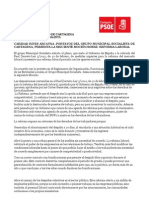 Mociones, Ruegos y Preguntas Del Pleno de 5 de Marzo de 2012