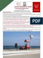 Université de Droit international privé à Pondichéry _ 11 - 16 février 2012