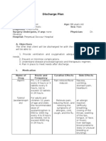 FORMAT Discharge Plan