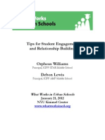 2012 What Lewis, Debon and Williams, Orpheus_Tips for Student Engagement