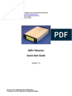 CCW SDR-4 Receiver Quick Start Guide v1.3