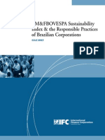 BM&FBOVESPA Sustainability Index & the Responsible Practices of Brazilian Corporations