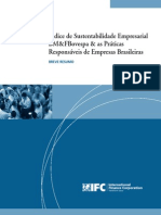 BM&FBOVESPA Sustainability Index & the Responsible Practices of Brazilian Corporations (Portuguese)