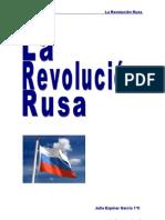 JULIA ESPINAR - REVOLUCIÓN RUSA