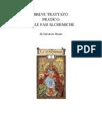 Trattato Fasi Alchemiche Salvatore Brizzi