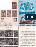 I Will Build My Church Upon This Rock by W. V. Grant, Sr