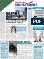Private Cloud Creates Business Success Stories
