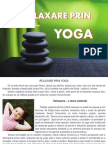 Relaxare Prin Yoga