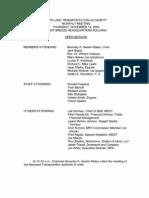 MDTA Minutes 11-12-09