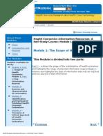 Module1 Health Economics