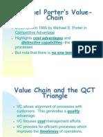 Porters Value Chain Model