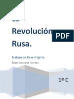 ÁNGEL GONZÁLEZ-REVOLUCIÓN RUSA