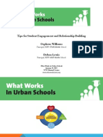 2012 What Lewis, Debon and Williams, Orpheus_Tips for Student Engagement PPT