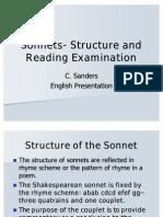 Sonnets- English Presentation