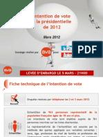Fichier Intention de Vote Bva-le Parisien - Mars 2012a3c86