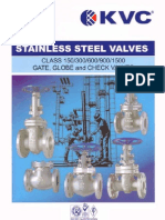 KVC - Stainless Steel Valves