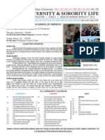 Missouri State Fraternity and Sorority Life Weekly Newsletter - Issue 3